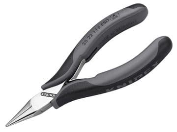ESD Electronics Half Round Jaw Pliers 115mm